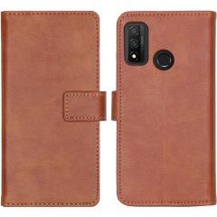 iMoshion Luxuriöse Buchtyp-Hülle Huawei P Smart (2020)  - Braun