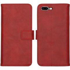 iMoshion Luxuriöse Buchtyp-Hülle iPhone 8 Plus / 7 Plus - Rot