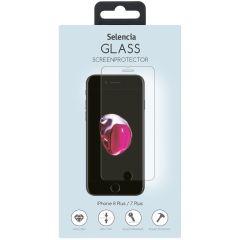 Selencia Displayschutz gehärtetem Glas iPhone 8 Plus/7 Plus/6(s) Plus