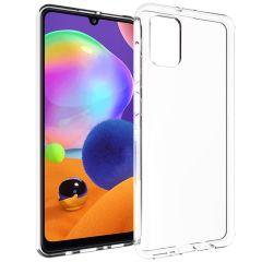 Accezz TPU Clear Cover Transparent für das Samsung Galaxy A31