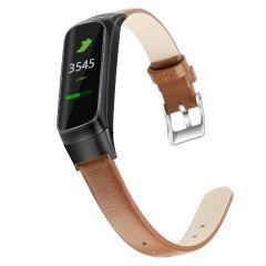iMoshion Echtes Lederband für das Samsung Galaxy Fit - Braun