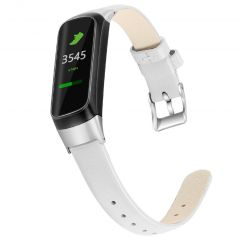 iMoshion Echtes Lederband für das Samsung Galaxy Fit - Weiß