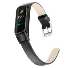 iMoshion Echtes Lederband für das Samsung Galaxy Fit - Schwarz