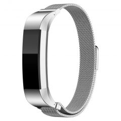 iMoshion Milanese Watch Armband Fitbit Alta (HR) - Silber