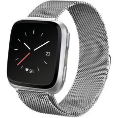 iMoshion Milanese Watch Armband Fitbit Versa 2 / Versa Lite - Silber