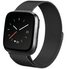 iMoshion Milanese Watch Armband Fitbit Versa 2 / Versa Lite - Schwarz