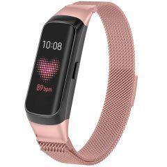 iMoshion Milanese Watch Armband für Samsung Galaxy Fit - Rosa