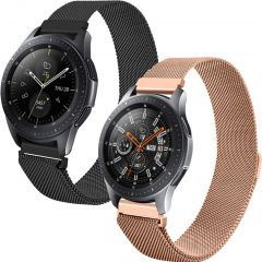 iMoshion Milanese Armband 2pack Watch 46/GearS3 Frontier/Classic/3 45