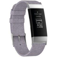 iMoshion Nylon-Armband Fitbit Charge 3 / 4 - Grau