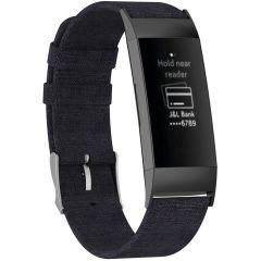 iMoshion Nylon-Armband Fitbit Charge 3 / 4 - Schwarz