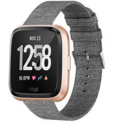 iMoshion Nylon-Armband Fitbit Versa 2 / Versa Lite - Grau