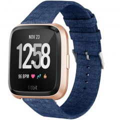 iMoshion Nylon-Armband Fitbit Versa 2 / Versa Lite - Blau