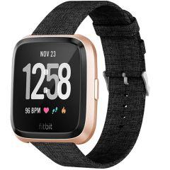 iMoshion Nylon-Armband Fitbit Versa 2 / Versa Lite - Schwarz