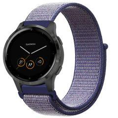 iMoshion Nylon-Armband Garmin Vivoactive 4L - Blau