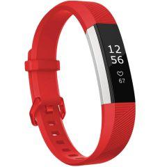 iMoshion Silikonband für die Fitbit Alta (HR) - Rot