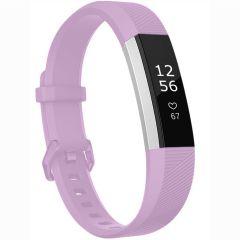 iMoshion Silikonband für die Fitbit Alta (HR) - Lila