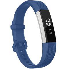 iMoshion Silikonband für die Fitbit Alta (HR) - Dunkelblau