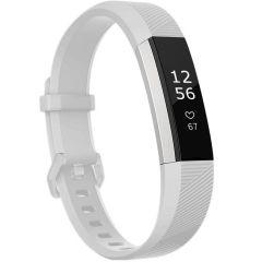 iMoshion Silikonband für die Fitbit Alta (HR) - Weiß