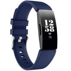 iMoshion Silikonband für die Fitbit Inspire - Dunkelblau