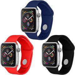iMoshion Silikonband Multipack Apple Watch 1-6 / SE - 42/44mm