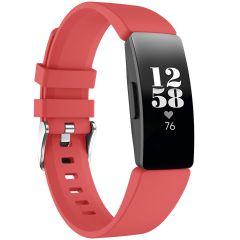 iMoshion Silikonband für die Fitbit Inspire - Rot
