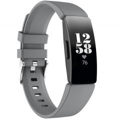 iMoshion Silikonband für die Fitbit Inspire - Grau