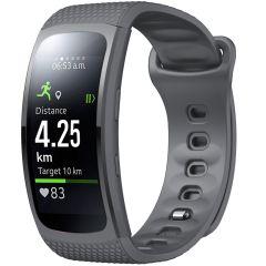 iMoshion Silikonband für das Samsung Gear Fit 2 / 2 Pro - Grau