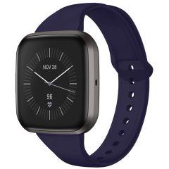 iMoshion Silikonband für die Fitbit Versa 2 / Versa Lite - Dunkelblau