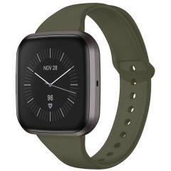 iMoshion Silikonband für die Fitbit Versa 2 / Versa Lite - Dunkelgrün