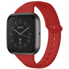 iMoshion Silikonband für die Fitbit Versa 2 / Versa Lite - Rot