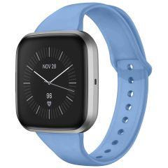 iMoshion Silikonband für die Fitbit Versa 2 / Versa Lite - Hellblau