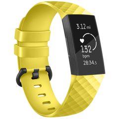iMoshion Silikonband für die Fitbit Charge 3 / 4 - Gelb