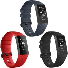 iMoshion Silikonband Multipack für die Fitbit Charge 3 / 4
