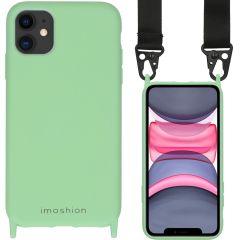 iMoshion Farbhülle mit Band - Nylonband iPhone 11 - Grün
