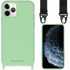 iMoshion Farbhülle mit Band - Nylonband iPhone 11 Pro - Grün