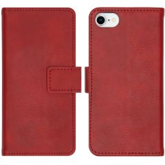 iMoshion Luxus Booktype Hülle Rot iPhone SE (2020) / 8 / 7 / 6(s)