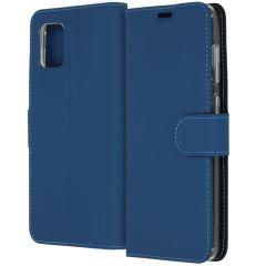 Accezz Wallet TPU Booklet für das Samsung Galaxy A31 - Blau