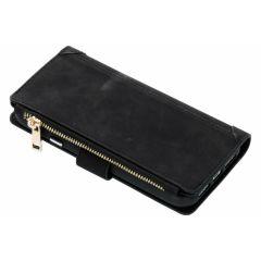 Luxuriöse Portemonnaie-Hülle Schwarz für das iPhone Xr