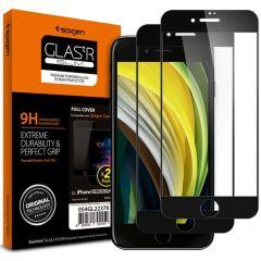 Spigen GLAStR Tempered Displayschutzfolie iPhone SE (2020) / 8 / 7