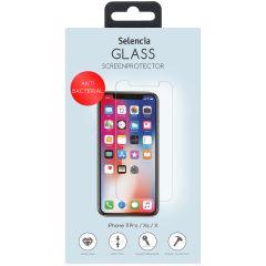 Selencia Antibakterieller Displayschutz Glas iPhone 11 Pro / Xs / X