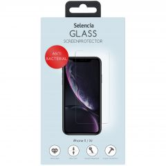 Selencia Antibakterieller Displayschutz gehärtetem Glas iPhone 11 /Xr
