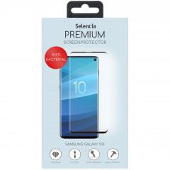 Selencia Antibakterieller Displayschutz gehärtetem Glas Galaxy S10