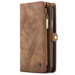 CaseMe Luxuriöse 2-in-1-Portemonnaie-Hülle Leder für das iPhone Xr