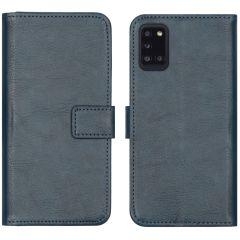 iMoshion Luxuriöse Buchtyp-Hülle Samsung Galaxy A31 - Dunkelblau
