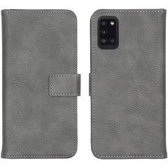 iMoshion Luxuriöse Buchtyp-Hülle Samsung Galaxy A31 - Grau