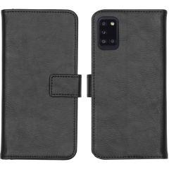 iMoshion Luxuriöse Buchtyp-Hülle Samsung Galaxy A31 - Schwarz