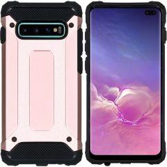 iMoshion Rugged Xtreme Case Roségold für Samsung Galaxy S10 Plus