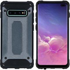 iMoshion Rugged Xtreme Case Dunkelblau für Samsung Galaxy S10 Plus