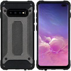 iMoshion Rugged Xtreme Case Schwarz für Samsung Galaxy S10 Plus