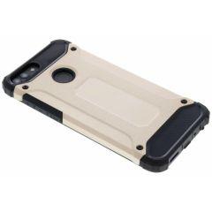 Goldfarbenes Rugged Xtreme Case Huawei P Smart